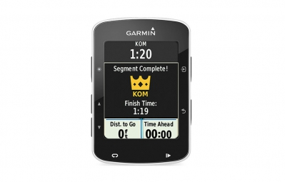GARMIN GPS EDGE 520 Bundle Noir/Blanc