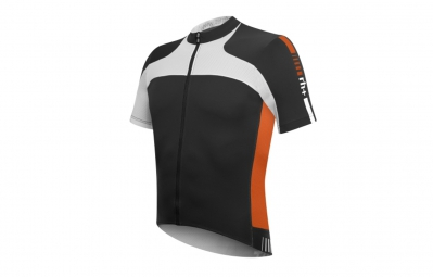 zero rh maillot agility fz noir blanc orange s
