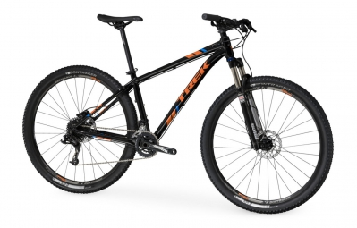 trek 2016 velo complet 27 5 x caliber 8 noir orange 15 5 pouces 153 162 cm