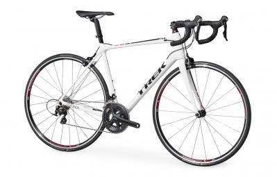 Vélo de Route Trek Emonda sl 5 Shimano 105 11V 2016 Blanc