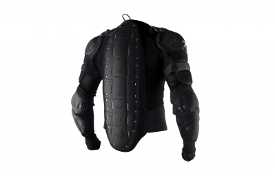 ixs gilet de protection assault jacket noir s m