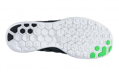 NIKE Chaussures FREE 5.0 Noir Vert Homme