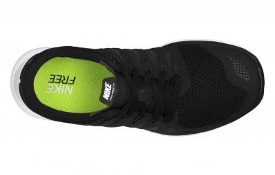 NIKE Chaussures FREE 5.0 Noir Blanc Femme