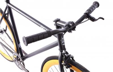 6KU Vélo Complet Fixie NEBULA 2 Noir Gold