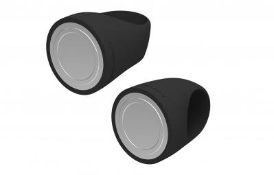 REELIGHT Kit Eclairage Avant Arrière EGO USB Noir