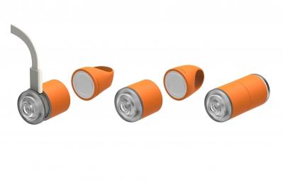 REELIGHT Kit Eclairage Avant Arrière EGO USB Orange