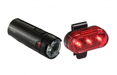 Bontrager Ion 35 Front and Flare 1 Rear Light Set
