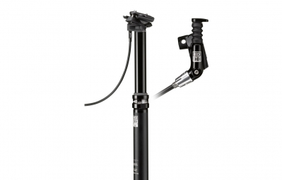 Tige de selle telescopique rockshox reverb remote matchmaker droit debattement 125mm