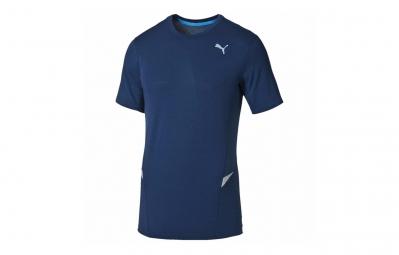 PUMA Tee-Shirt MC Homme Bleu