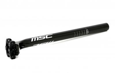 MSC Tige de Selle Carbone 31.6 x 400 mm