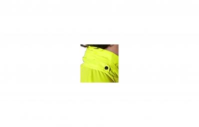 asics veste convertible jaune m
