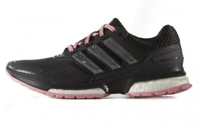Adidas response boost 2 0 techfit noir rose 37 1 3
