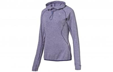 PUMA Tee-Shirt ML Femme Violet