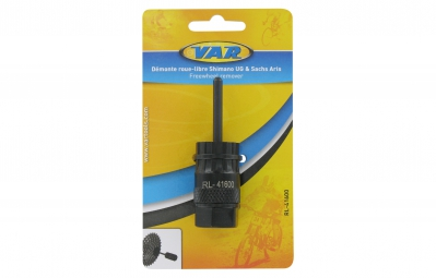 VAR remover Shimano cassettes with guide