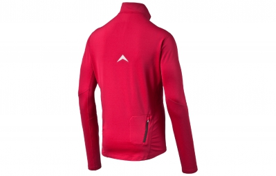 PUMA Tee-Shirt ML 1/2 Zip Homme POWERWARM Rouge