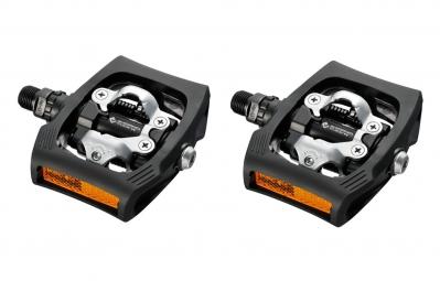 Shimano paire de pedales clickr pd t400 noir