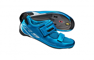 chaussures triathlon shimano tr9 bleu 41 1 2