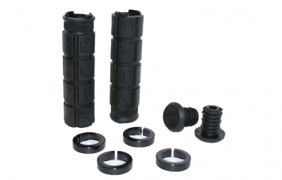 Oury Lock-On Grips - Black