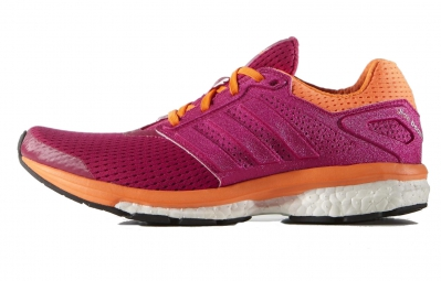 adidas supernova glide 7 boost rose orange 36 2 3