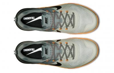 NIKE Chaussures METCON 1 Gris Orange Homme