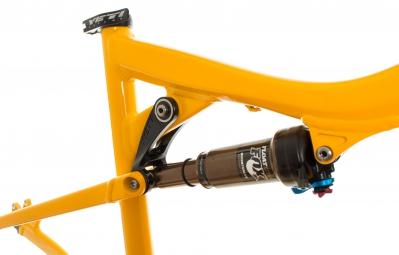 YETI 2014 575 Frame Yellow 27.5'' 146mm + CTD Adjust Kashima shock