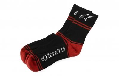 alpinestars 2015 chaussettes summer noir rouge 43 46