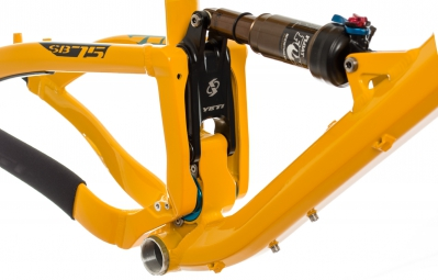 YETI 2014 Frame SB75 Alu + Rear Shock FOX CTD 27.5'' Yellow