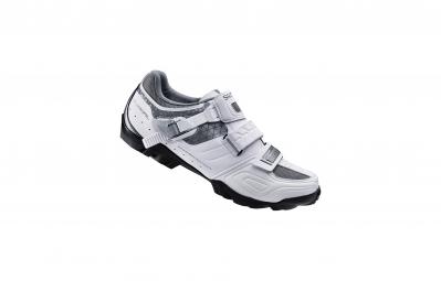 chaussures vtt femme shimano wm64 blanc 37