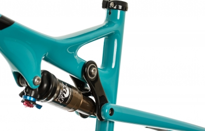 YETI 2015 Frame only ASR-C Turquoise + Shock FOX CTD ADJUST