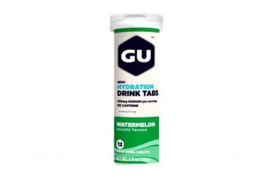 GU 12 Pastilles effervescentes Brew Electrolyte Goût Pastèque