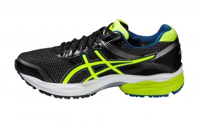 Chaussures de Running Asics GEL PULSE 7 G-TX Noir / Jaune
