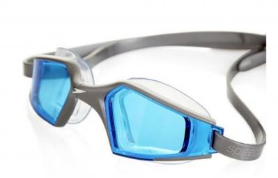 SPEEDO Paire de lunettes de natation AQUAPULSE MAX 2 silver/blue