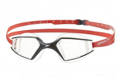 SPEEDO Paire de lunettes de natation AQUAPULSE MAX 2 black/clear