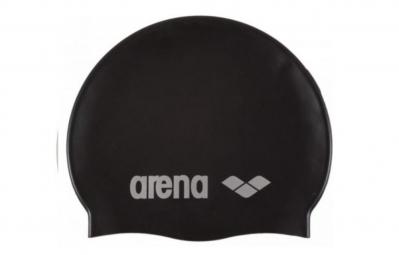 Arena Cap Classic Silicone Black Silver