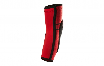 fox coudieres launch enduro pad rouge gris m