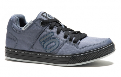five ten chaussures vtt freerider canvas gris bleu 41 1 2