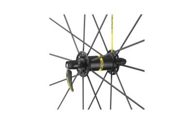 mavic roue avant ksyrium pro exalith sl noir pneu yksion pro 25mm