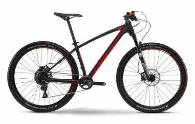 HAIBIKE 2016 Vélo Complet FREED 7.30 27.5´´ Noir Mat Rouge