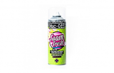 Limpiador de casco MUC-OFF FOAM FRESH 400 ml