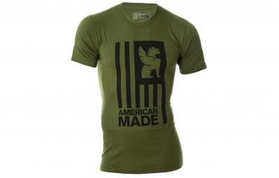 chrome t shirt american made kaki xl