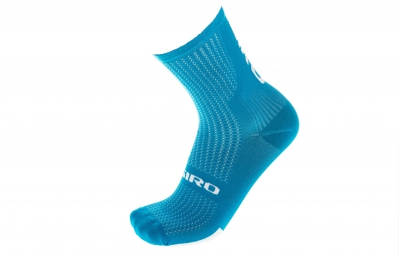 GIRO paire de chaussettes HRC TEAM bleu/blanc