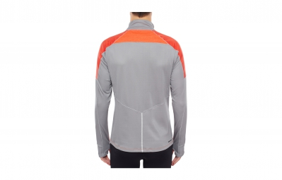 the north face veste isotherm orange gris homme xl