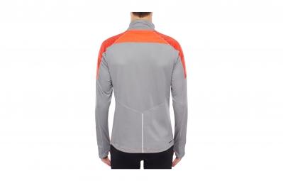 the north face veste isotherm orange gris homme xl