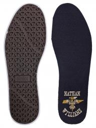 Paire de Chaussures BMX ETNIES RAP CT NATAHN WILLIAMS Bleu/Marron/Blanc