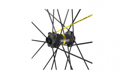 MAVIC 2016 CROSSMAX SL PRO Noir Paire de roues 27.5´´ 6TR 15mm/12x135mm Pneu Pulse 2.10