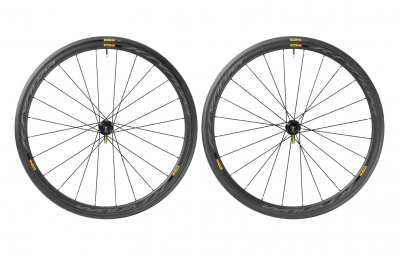 roues mavic ksyrium pro carbon sl disc 6tr campagnolo pneu yksion pro 25mm
