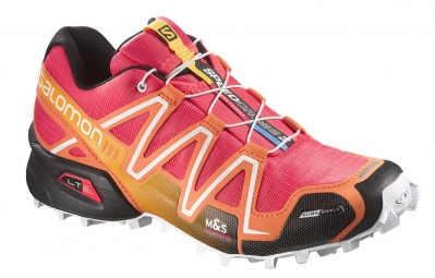 SALOMON Chaussures Femme SPEEDCROSS 3 CS W Orange Rose