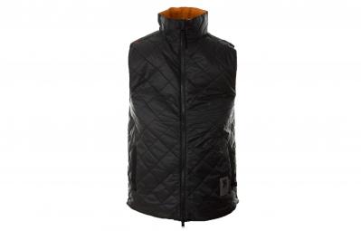 chrome gilet warm vest noir