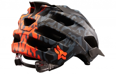 Casque Fox FLUX CAUZ Noir Orange