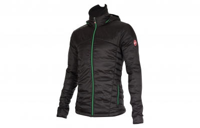 CASTELLI Jacket MECCANICO PUFFY JACKET Black Green